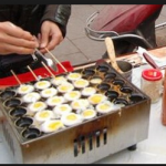 Jual Mesin Gas Quail Egg Grill (Mesin Kue Telur Puyuh) di Tangerang