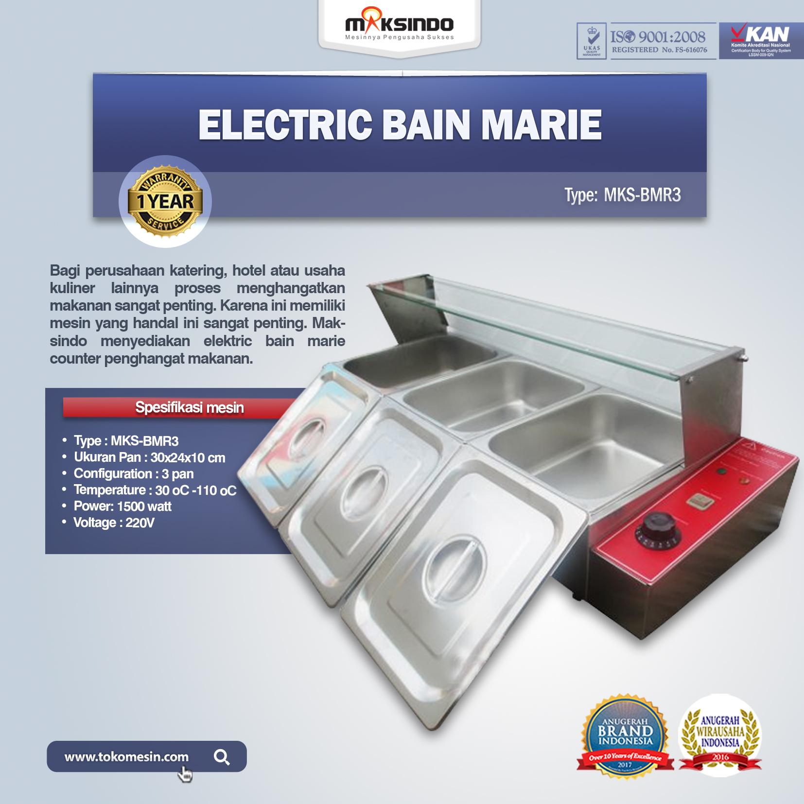 Electric Bain Marie MKS-BMR3
