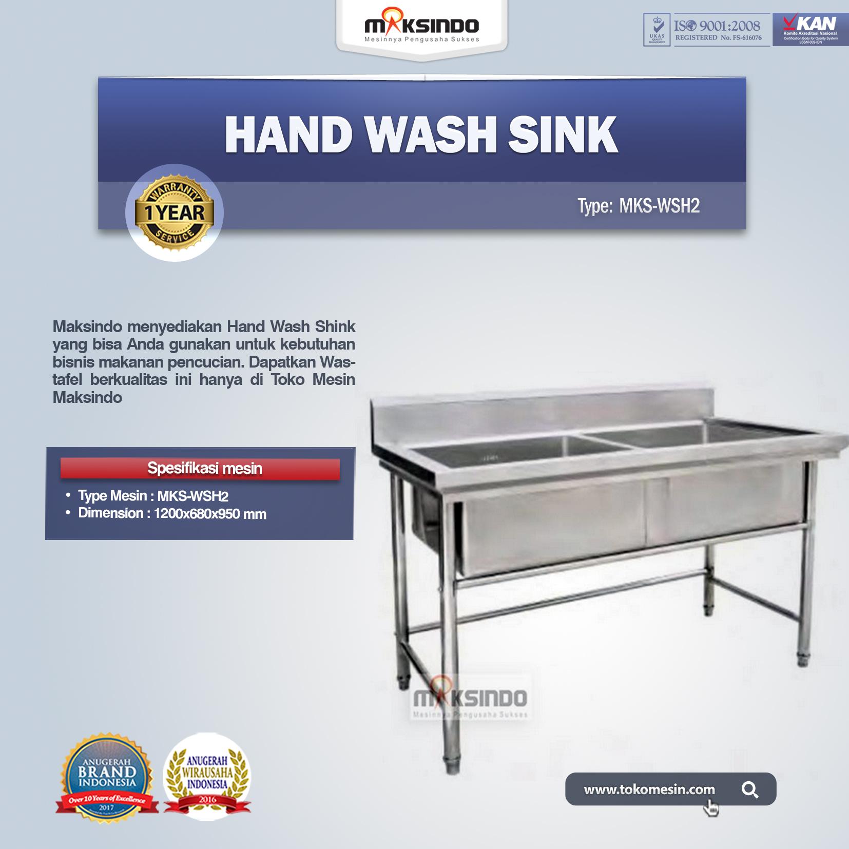 Hand Wash Sink MKS-WSH2
