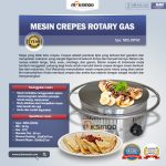Jual Mesin Crepes Rotary Gas (MKS-CRP60) di Tangerang