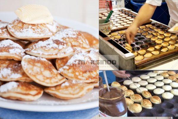 Mesin Mini Pancake Poffertjes 25 Lubang CRIP01 - Listrik-1
