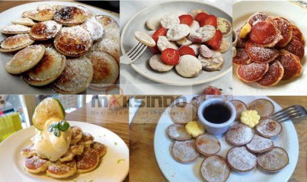 Mesin Mini Pancake Poffertjes 50 Lubang CRIP02 - Listrik-2