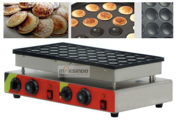 Mesin Mini Pancake Poffertjes 50 Lubang CRIP02 - Listrik