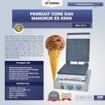 Jual Pembuat Cone dan Mangkuk Es Krim (CIC14) di Tangerang