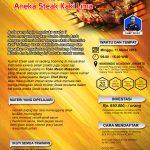 Training Usaha Aneka Steak Kaki Lima, 11 Maret 2018