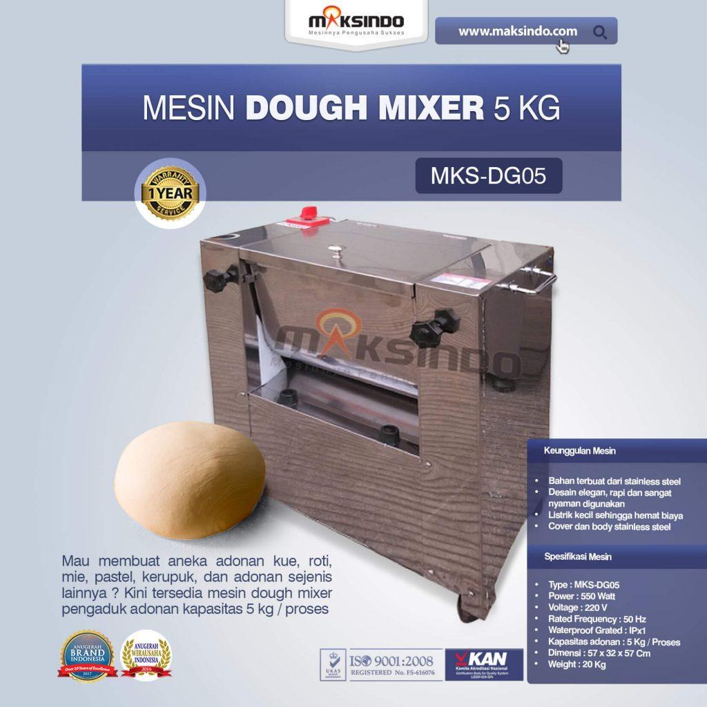 Mesin Dough Mixer 5 kg MKS-DG05 (1)