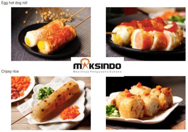 Mesin Egg Roll Sosis Telur Snack Maker 4in1 Listrik-1