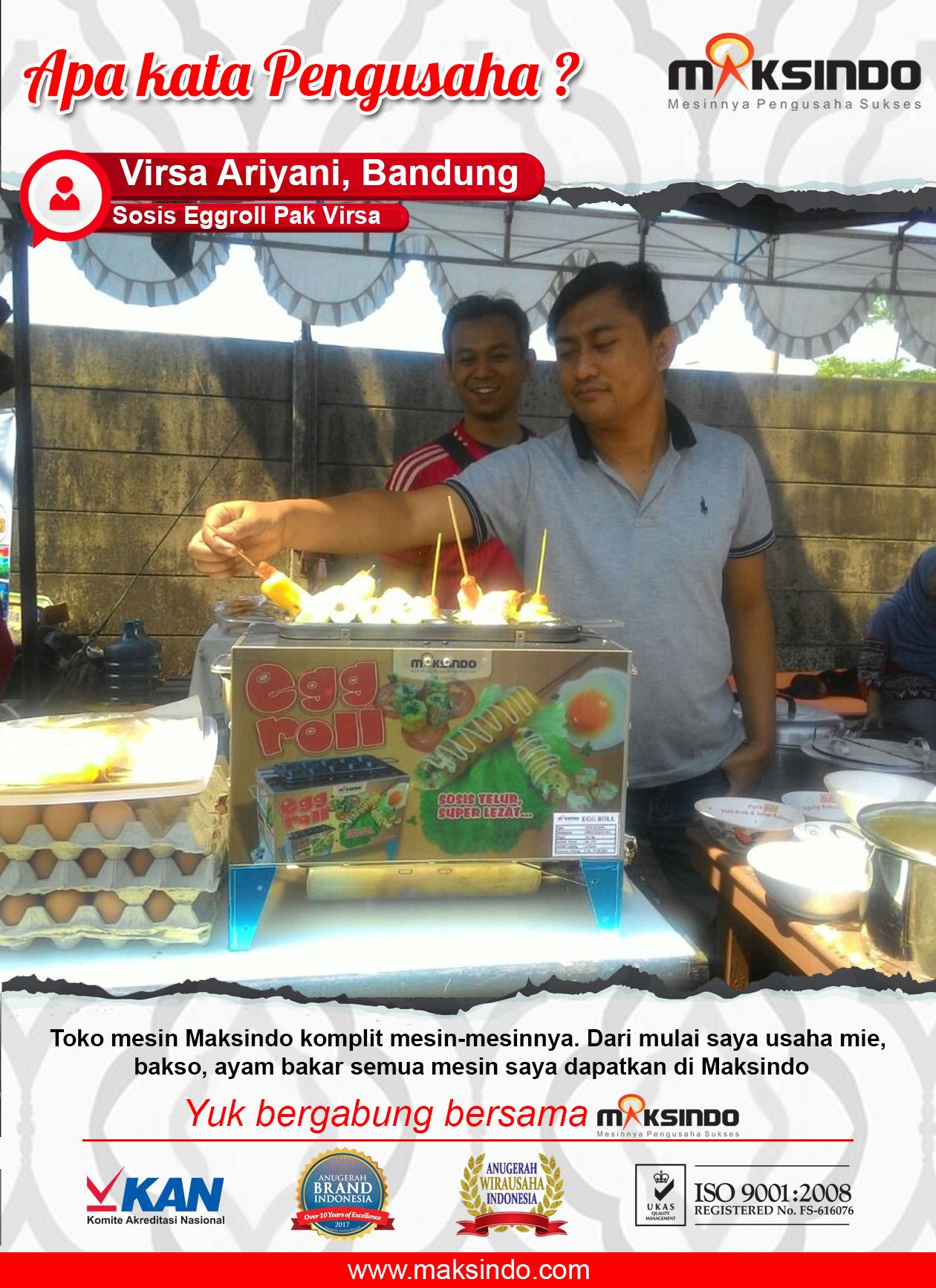 Mesin Egg Roll Sosis Telur Snack Maker 4in1 Listrik-14