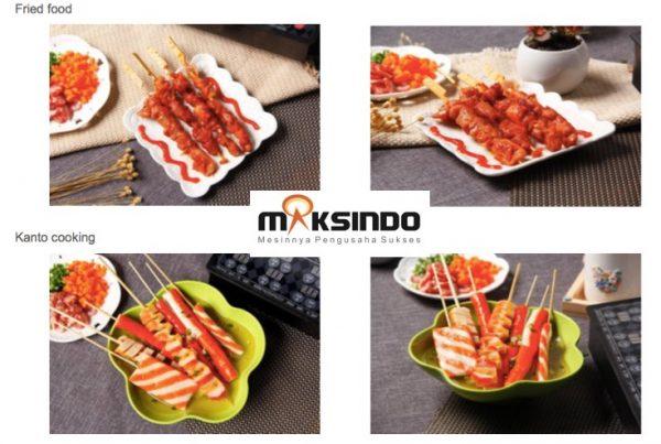 Mesin Egg Roll Sosis Telur Snack Maker 4in1 Listrik-2