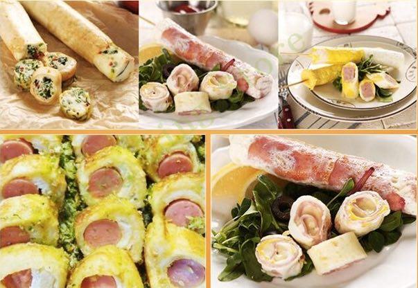 Mesin Egg Roll Sosis Telur Snack Maker 4in1 Listrik-8