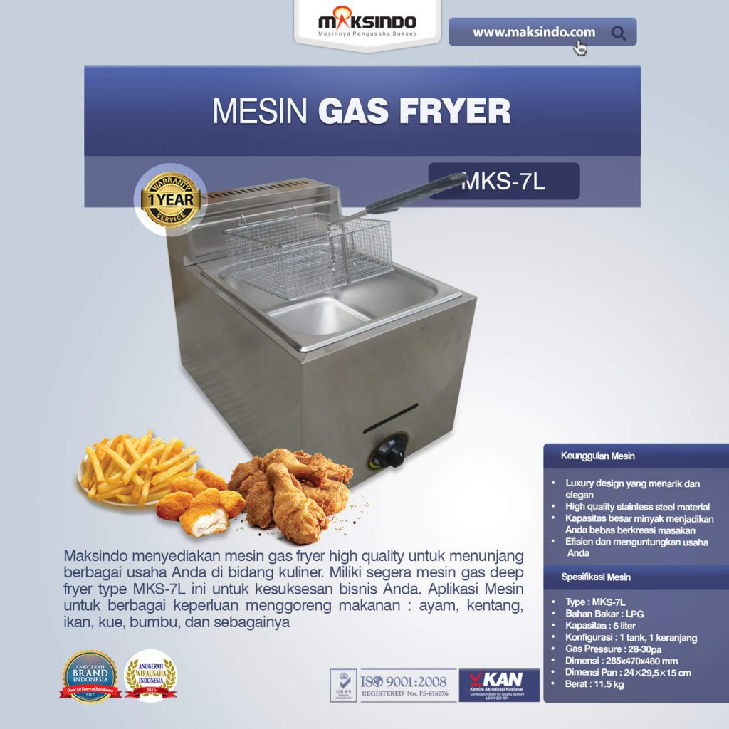 Mesin Gas Fryer MKS-7L (1)