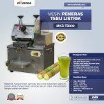 Jual Mesin Pemeras Tebu Listrik (MKS-TB300) di Tangerang