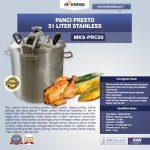 Jual Mesin Panci Presto 51 Liter Stainless (PRC50) di Tangerang