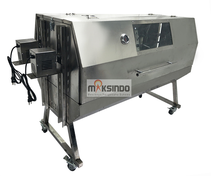 Mesin Kambing Guling Double Location Roaster (GRILLO-LMB55)-1