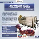 Jual Mesin Kambing Guling Double Location Roaster (GRILLO-LMB55) di Tangerang