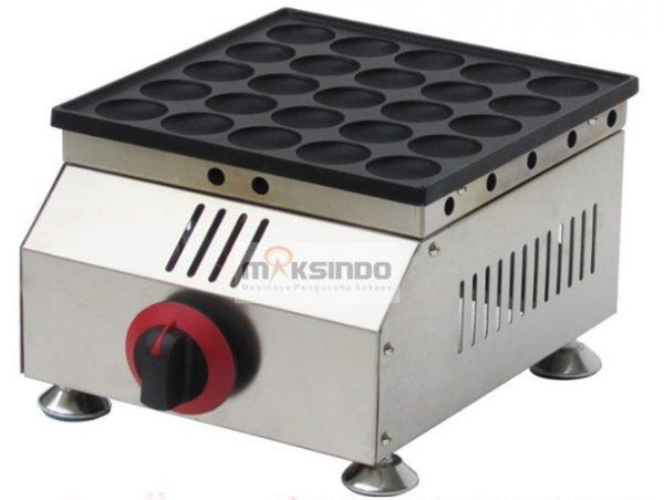 Jual Mesin Mini Pancake Poffertjes Gas 25 Lubang MPC25 di