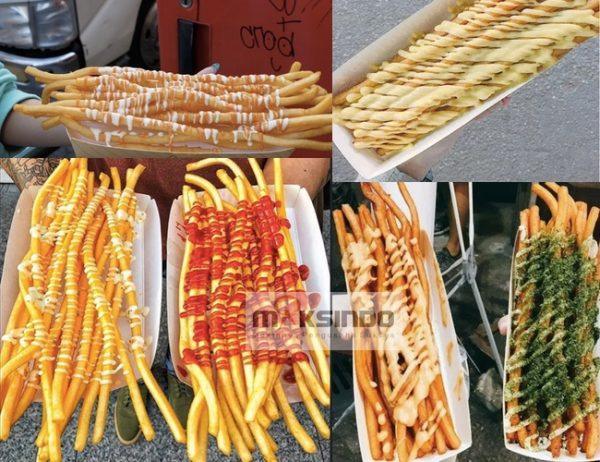 Paket Mesin Long Potato Kentang Panjang-1