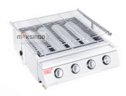 Pemanggang Serbaguna – Gas BBQ Grill 4 Tungku-2