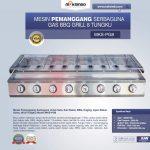 Jual Pemanggang Serbaguna Full Stainless – Gas BBQ Grill 8 Tungku di Tangerang