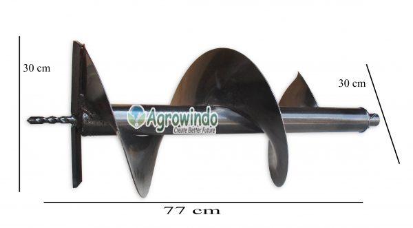 Pembuat Lubang Tanah Manual (AGR-PT61)-2