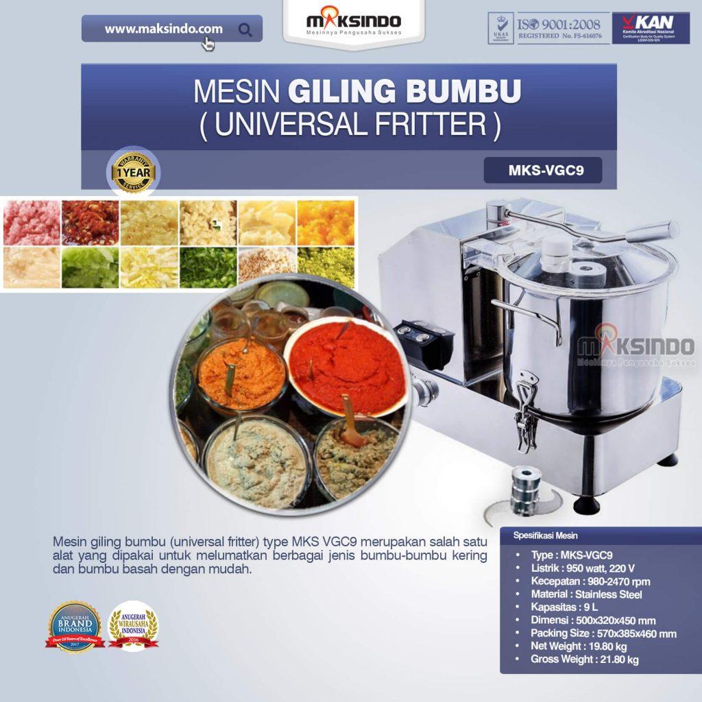 Mesin Giling Bumbu Universal Fritter MKS VGC9 (1)