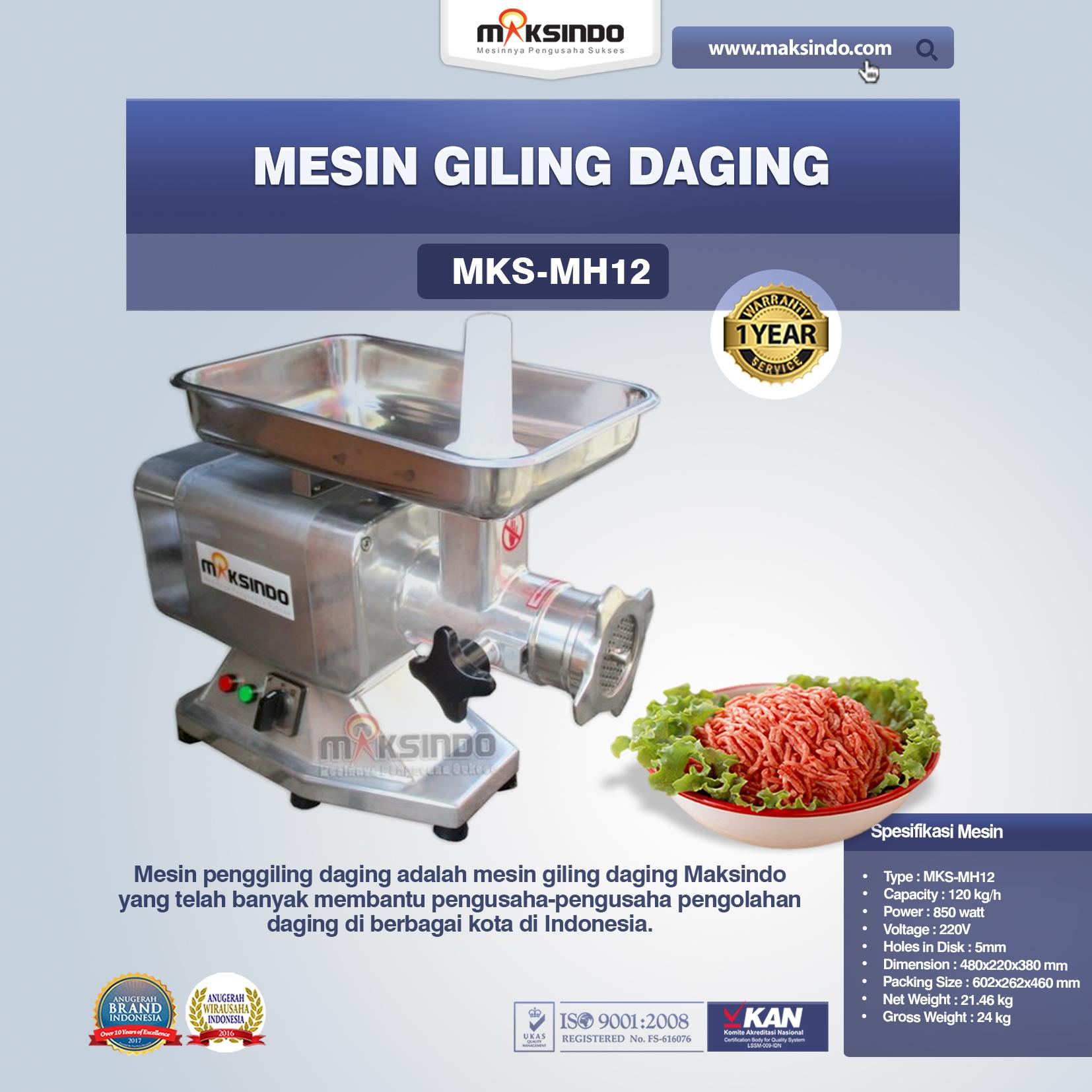 Mesin Giling Daging MKS-MH12