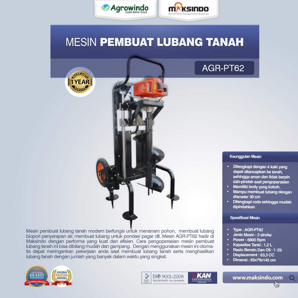 Mesin Pembuat Lubang Tanah AGR-PT62 (1)