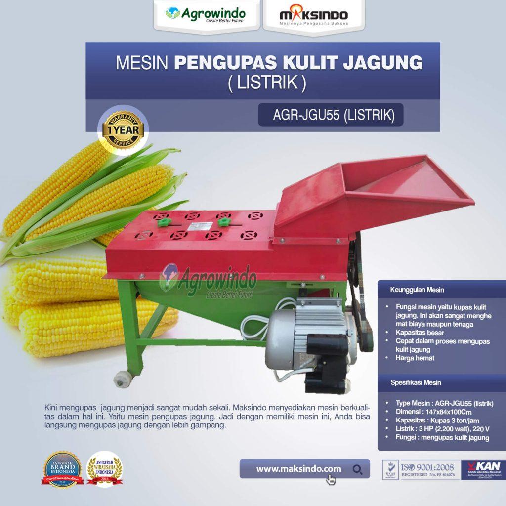 Mesin Pengupas Kulit Jagung Listrik JGU55 (1)