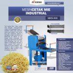 Jual Mesin Cetak Mie Industrial (MKS-800) di Tangerang