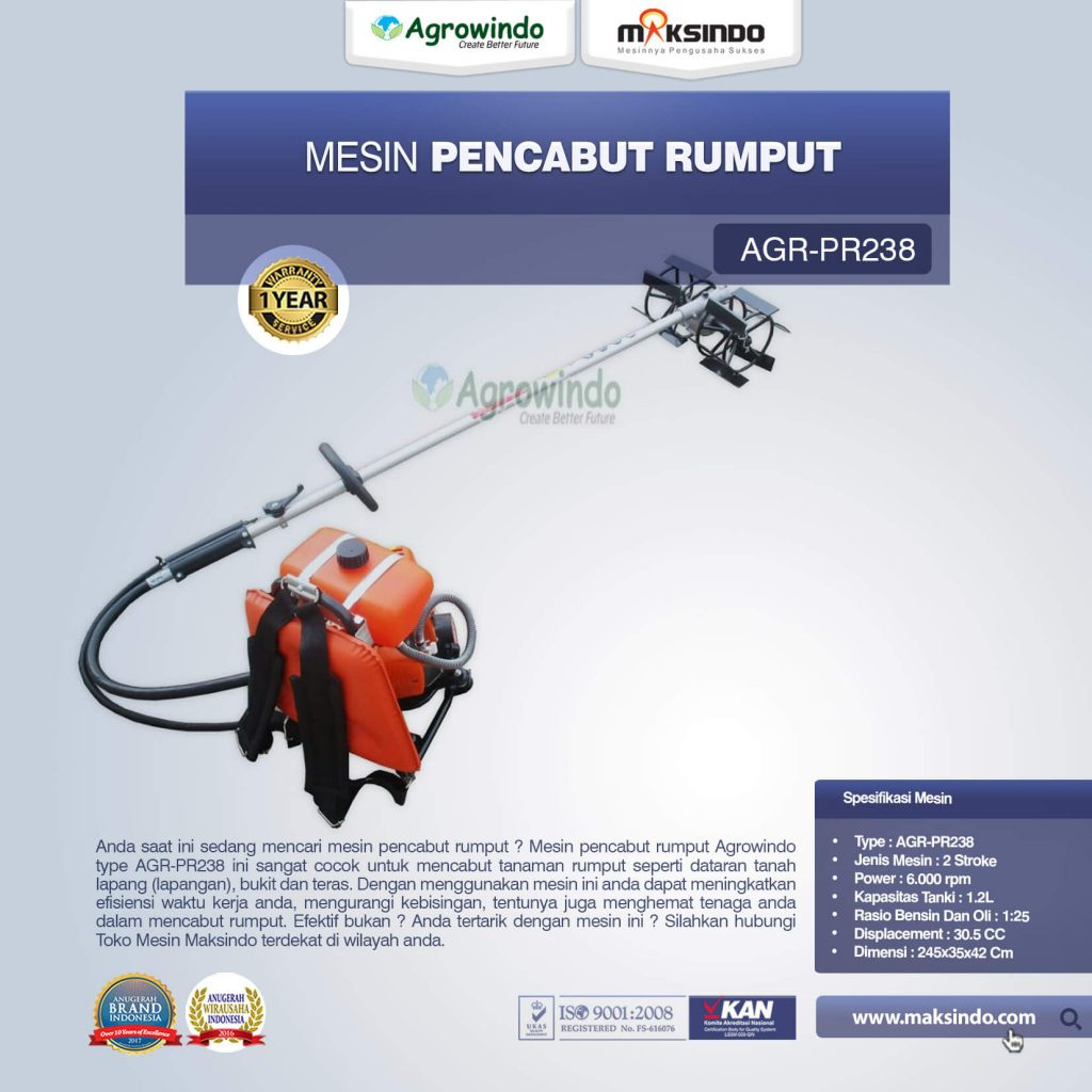 Mesin Pencabut Rumput AGR-PR238 (1)