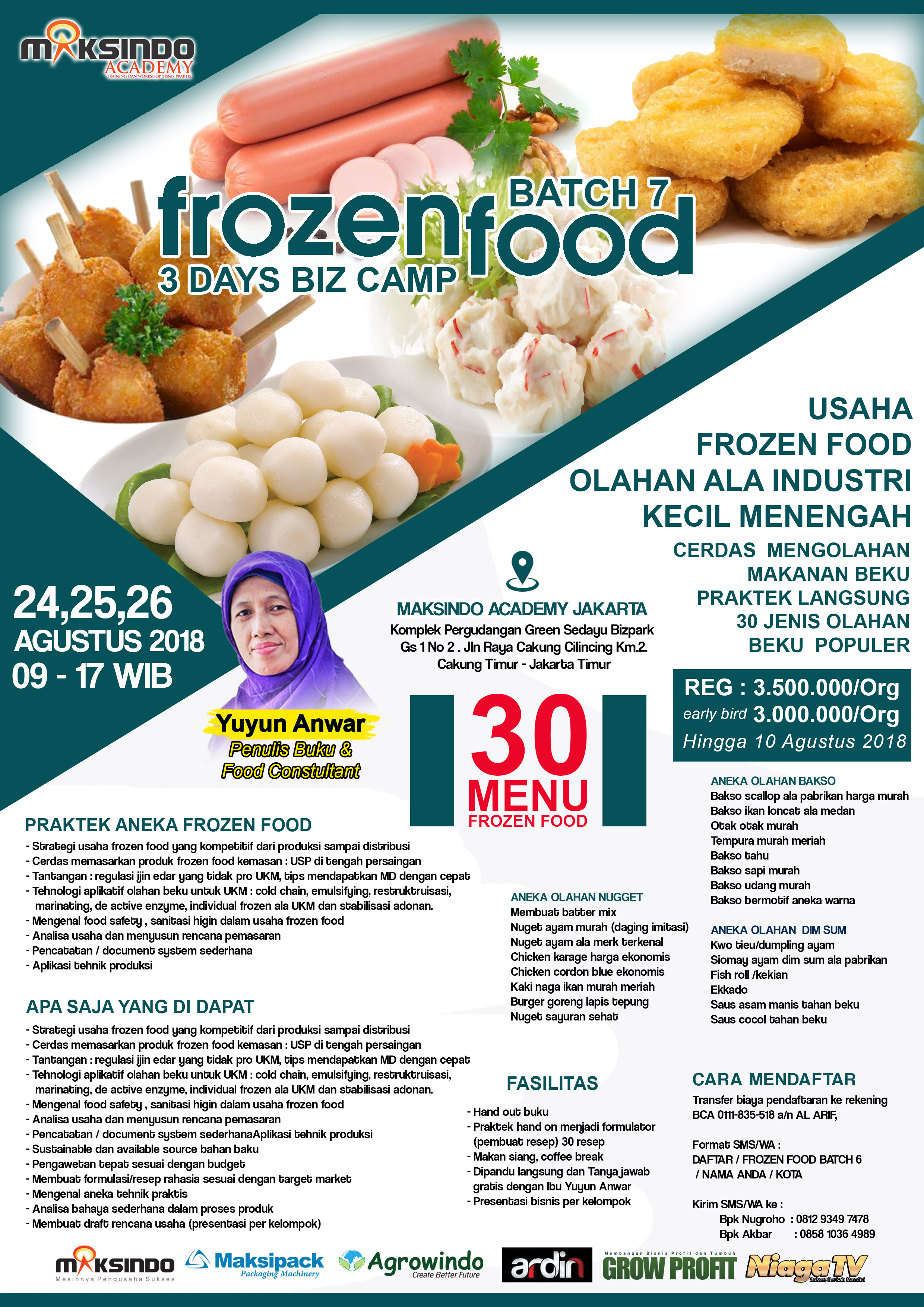 frozen food AGUSTUS