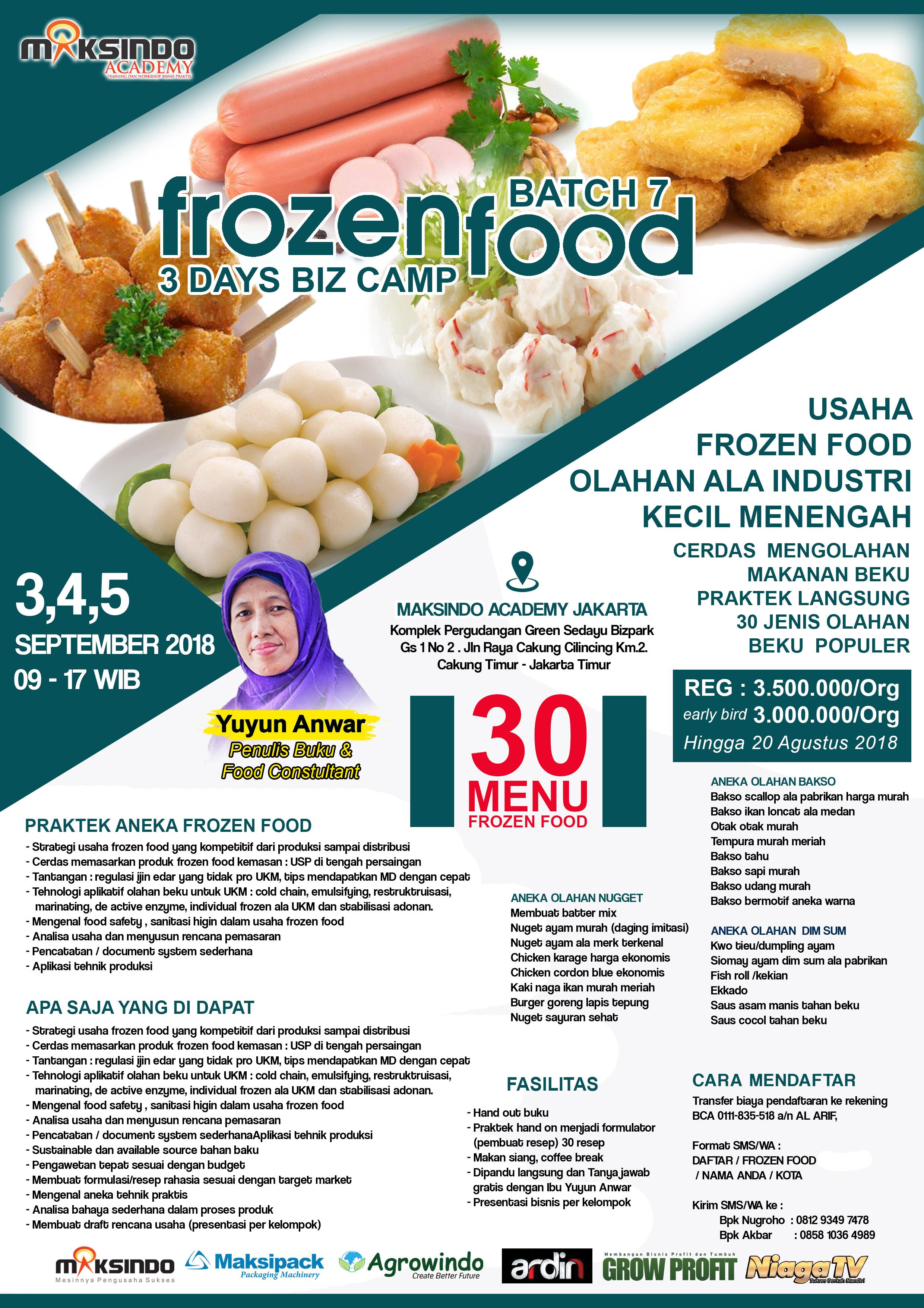 frozen food SEP