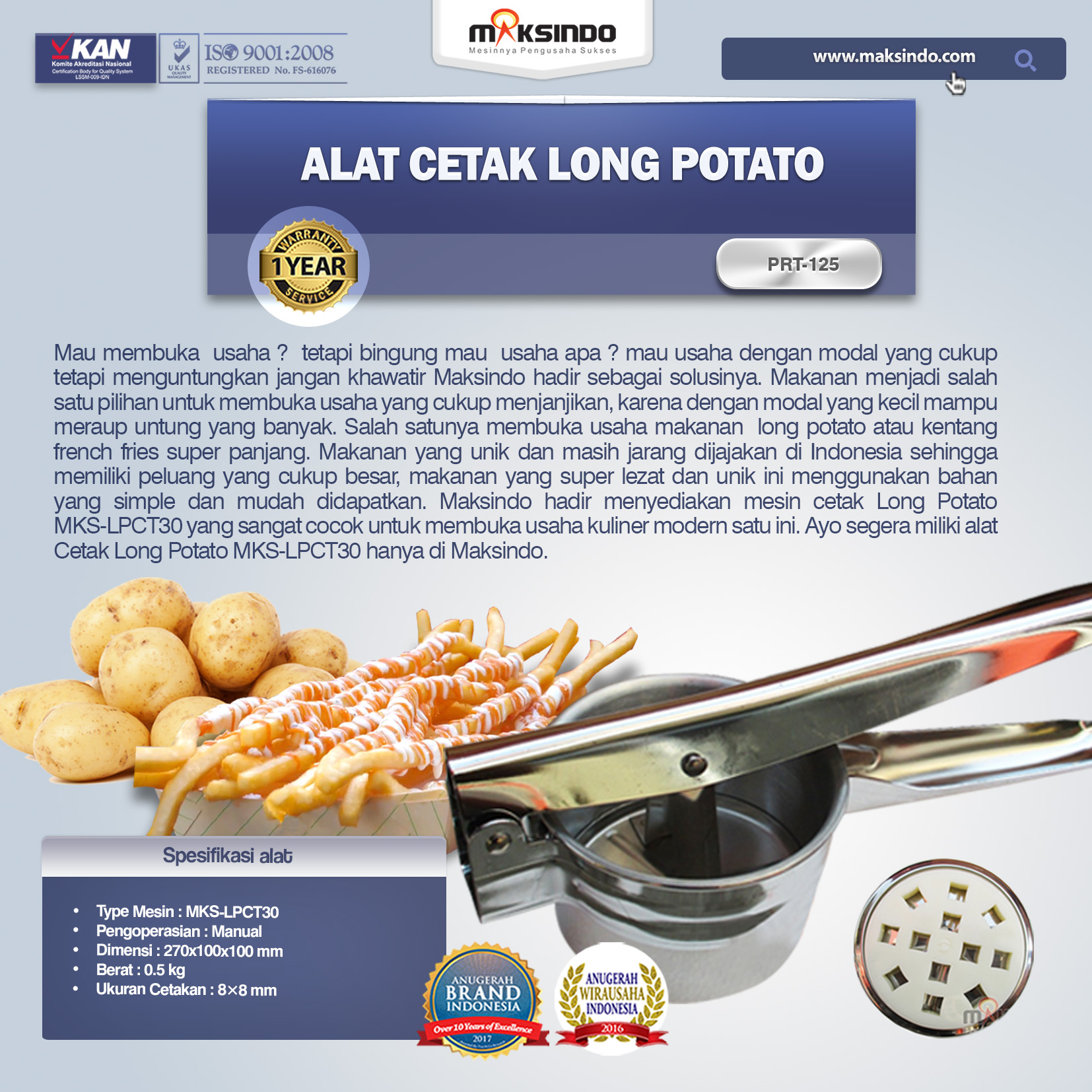 Alat-Cetak-Long-Potato-MKS-LPCT30-1