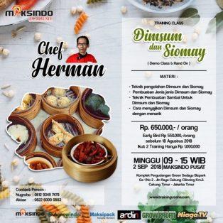 Training Usaha Dimsum Dan Siomay, 2 September 2018