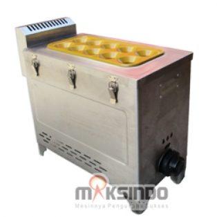 Jual Mesin Pembuat Egg Roll (Gas) GRILLO-12SS di Tangerang