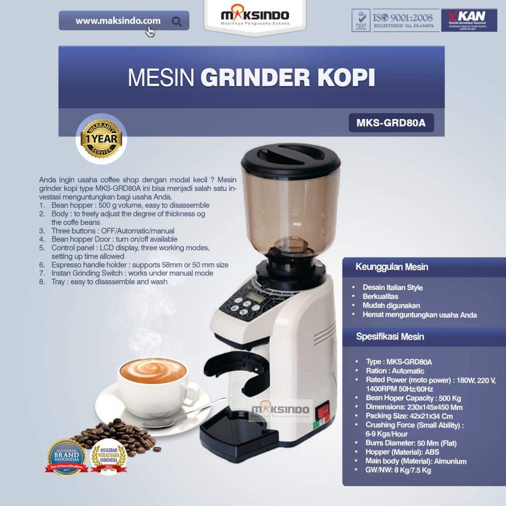 Mesin Grinder Kopi (MKS-GRD80A)(1)