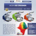 Jual Mesin Ice Crusher MKS-CRS20 di Tangerang