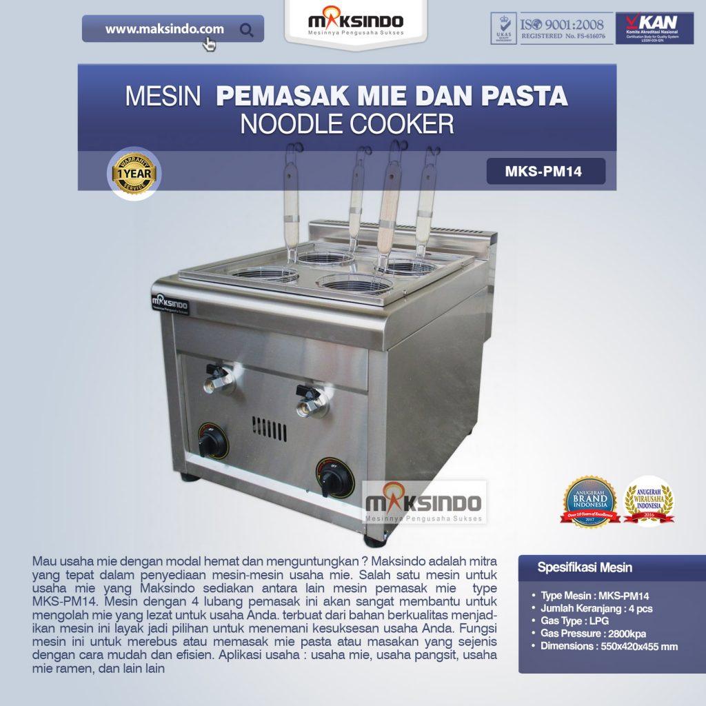 Mesin Pemasak Mie Dan Pasta Noodle Cooker MKS-PM14