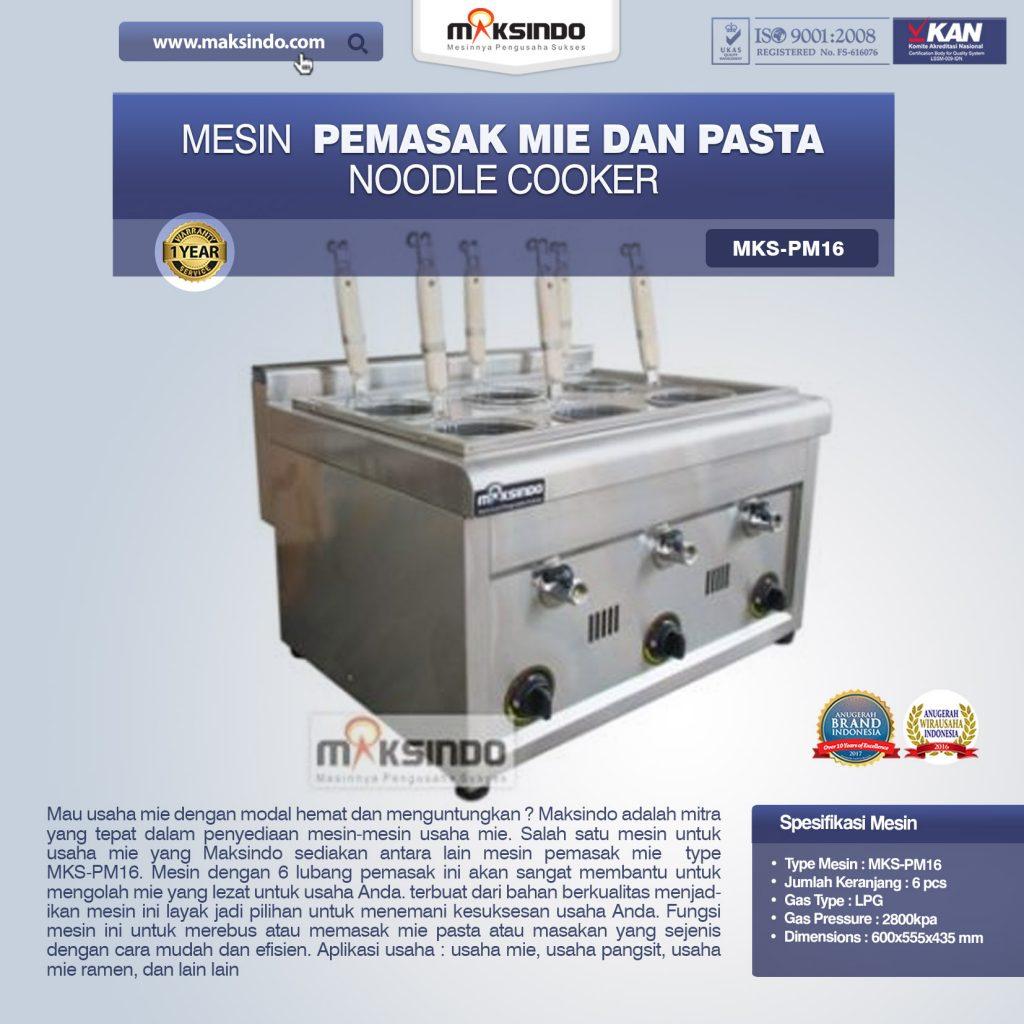 Mesin Pemasak Mie Dan Pasta Noodle Cooker MKS-PM16