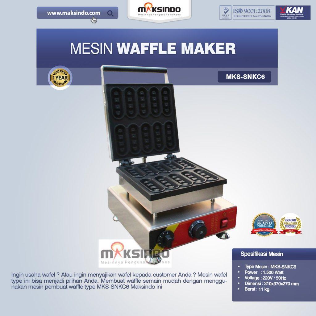 Mesin Waffle Maker MKS-SNKC6