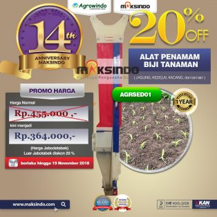 Jual Alat Penamam Biji Tanaman (jagung, Kedelai, Kacang, dll) di Tangerang