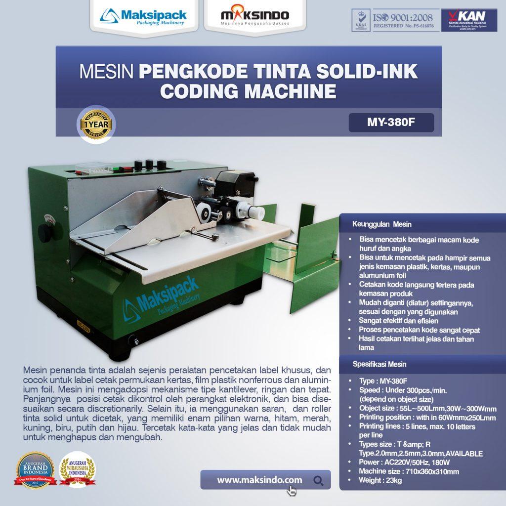 Coding Machine MY-380F