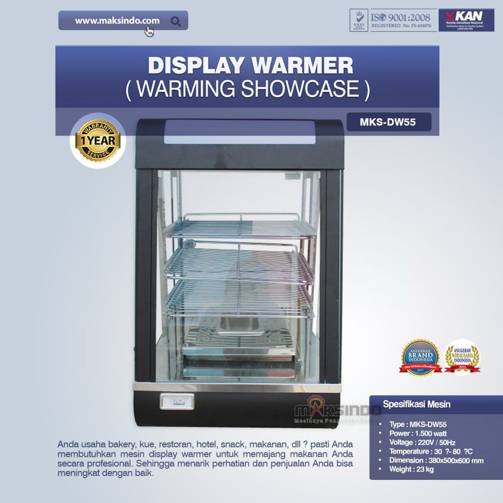 Mesin Display warmer MKS-DW55