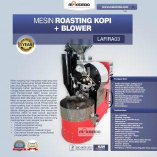 Jual Mesin Roasting Kopi + Blower LAFIRA03 di Tangerang