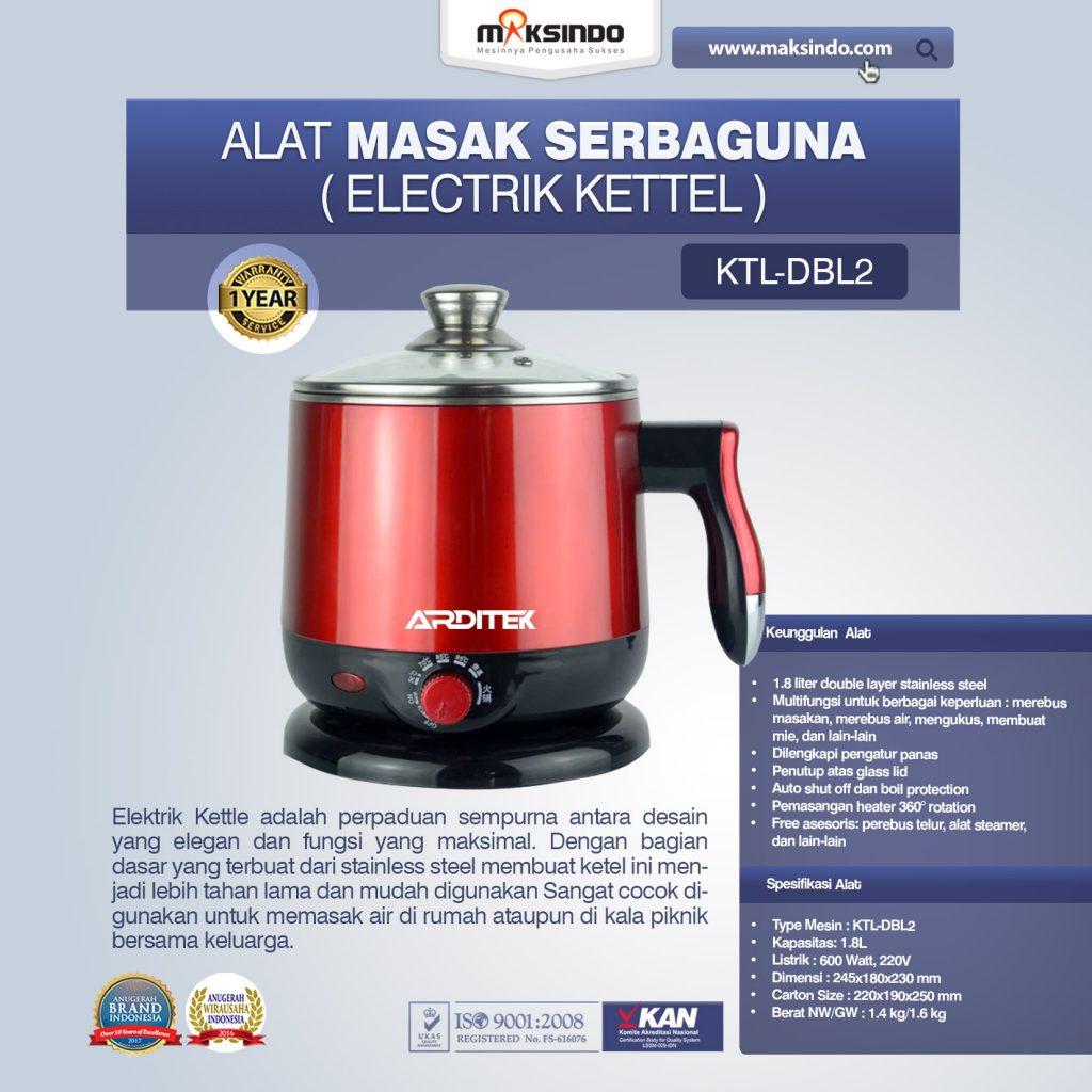 Alat Masak Serbaguna Electrik Kettel KTL-DBL2