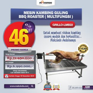 Jual Mesin BBQ Roaster (GRILLO-LMB22) di Tangerang