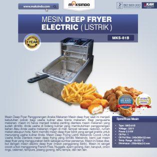 Jual Mesin Deep Fryer Listrik MKS-81B di Tangerang