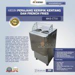 Jual Mesin Perajang Keripik Kentang dan French Fries MKS-CT50 di Tangerang