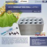 Jual Mesin Pembuat Egg Roll (Listrik) GRILLO-10SS di Tangerang
