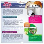 Jual Mixer dan Pembuat Roti (Bread Maker) ARD-BM66X di Tangerang